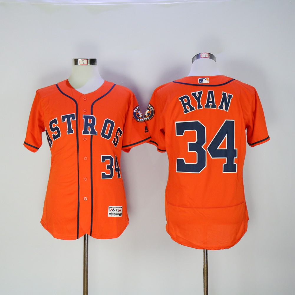 Men Houston Astros 34 Ryan Oragne MLB Jerseys