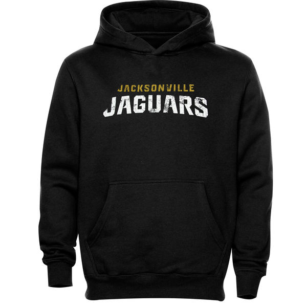 Men Jacksonville Jaguars Faded Wordmark Hoodie Black