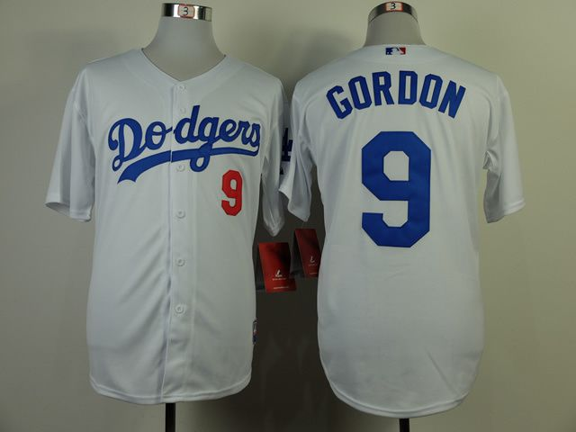 Men Los Angeles Dodgers 9 Gordon White MLB Jerseys