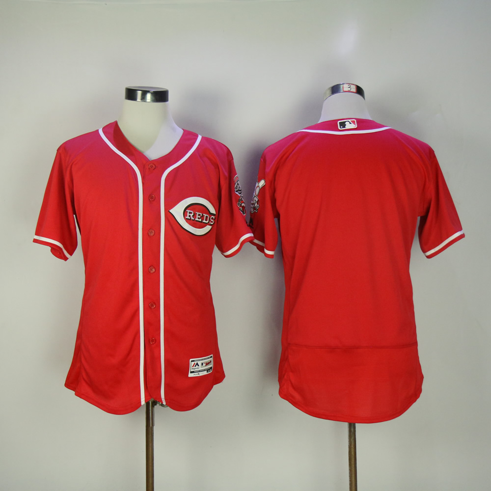 Men MLB Cincinnati Reds blank red jerseys