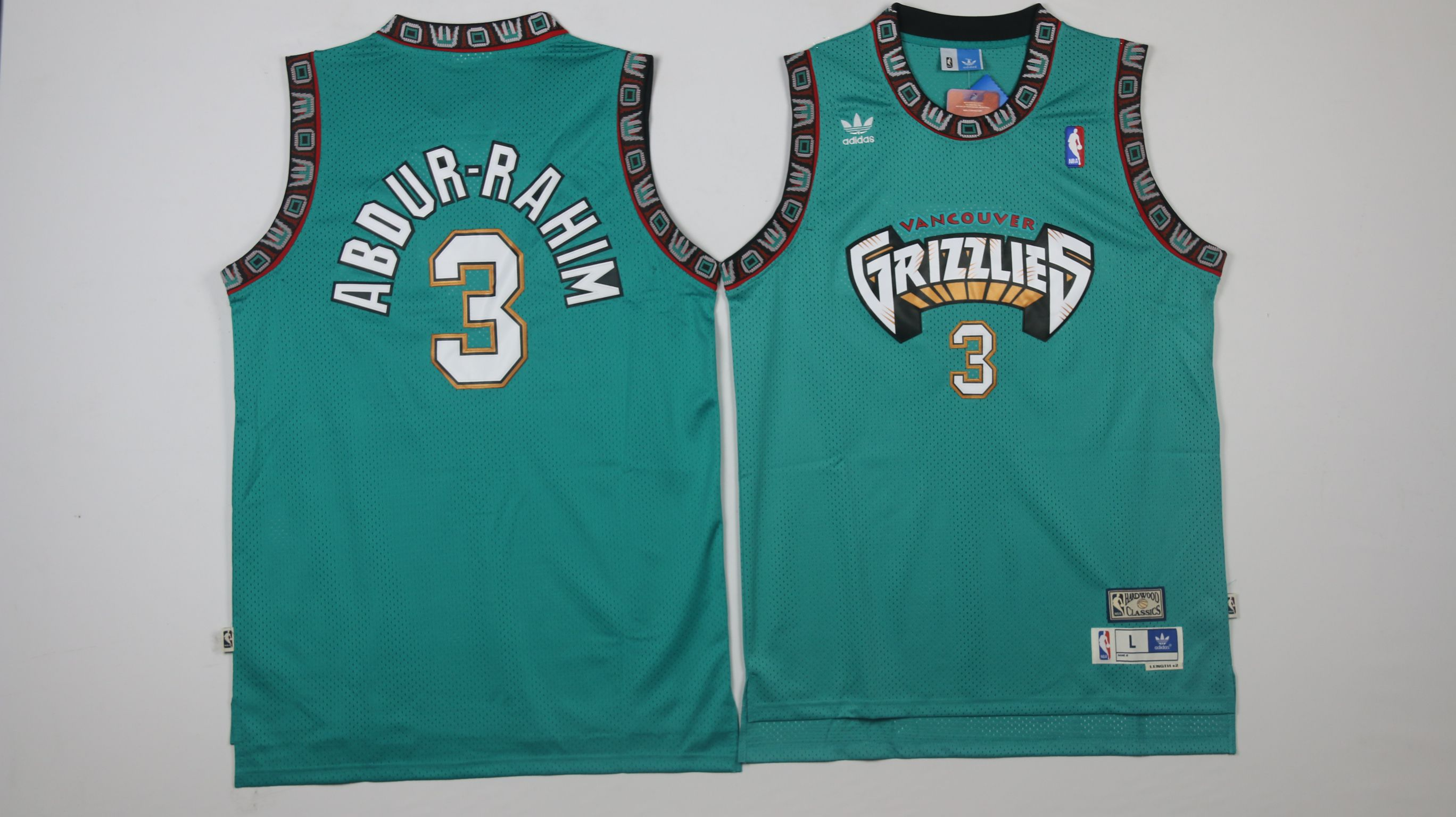 Men Memphis Grizzlies 3 Abdur-rahim Green Throwback NBA Jerseys