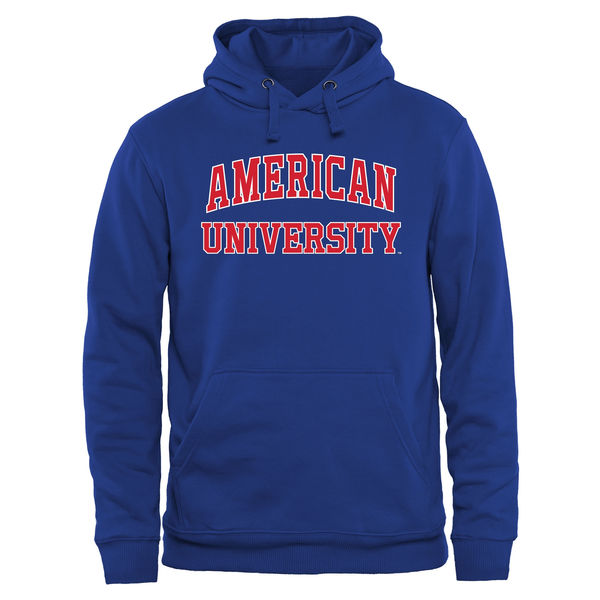 Men NCAA American Eagles Everyday Pullover Hoodie Royal