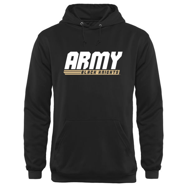 Men NCAA Army Black Knights Billboard Hoodie Black