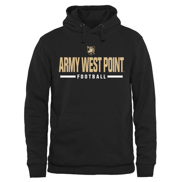 Men NCAA Army Black Knights Custom Sport Pullover Hoodie Black