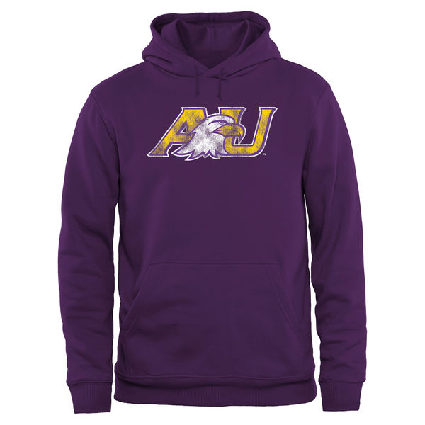 Men NCAA Ashland Eagles Big Tall Classic Primary Pullover Hoodie Purple