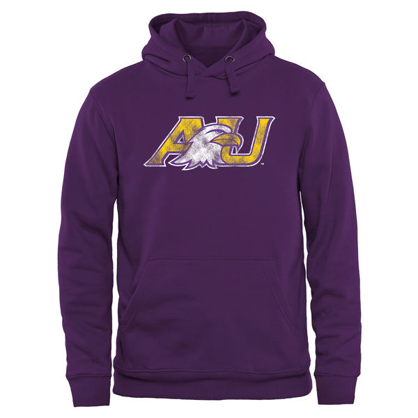 Men NCAA Ashland Eagles Classic Primary Pullover Hoodie Purple