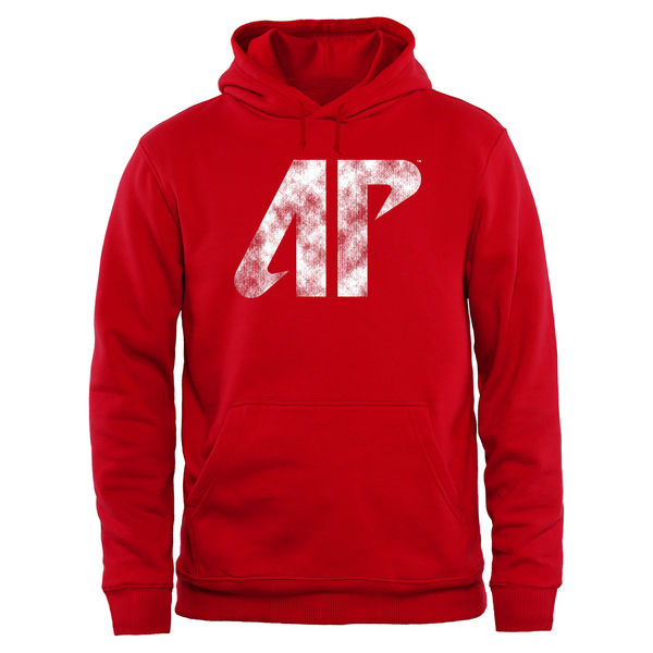 Men NCAA Austin Peay State Governors Big Tall Classic Primary Pullover Hoodie Red