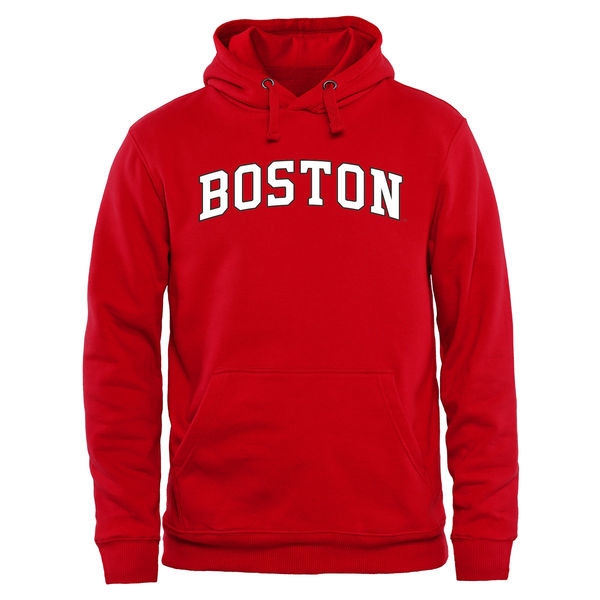 Men NCAA Boston University Everyday Pullover Hoodie Red