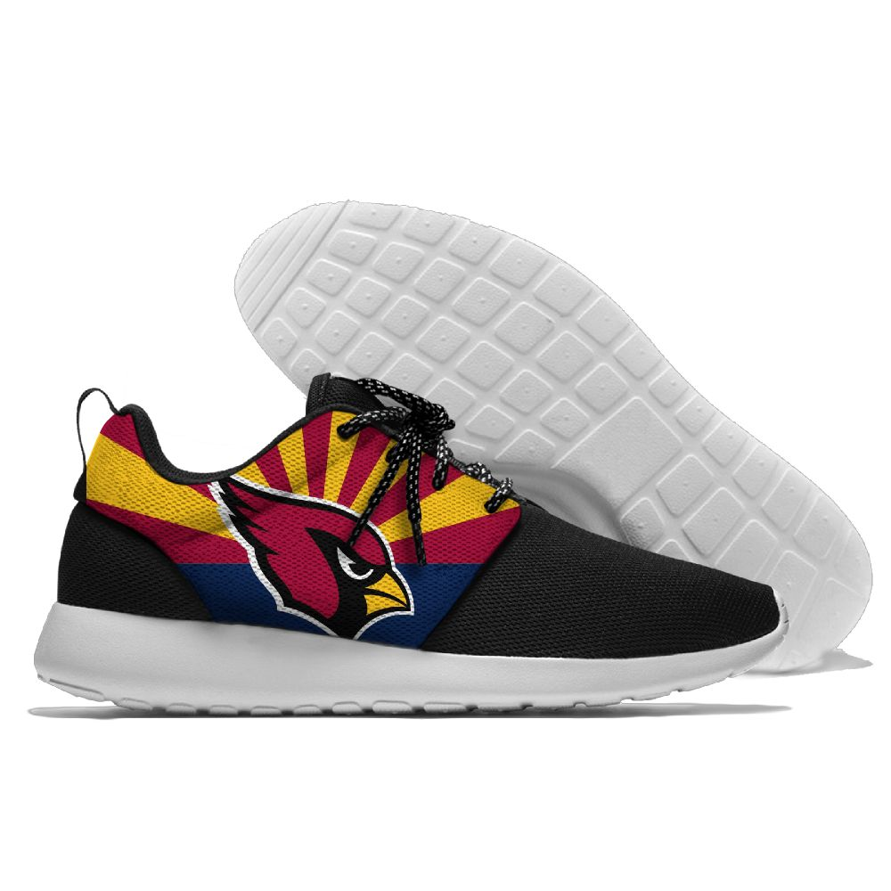 Men NFL Arizona Cardinals Roshe style Lightweight Running shoes 4