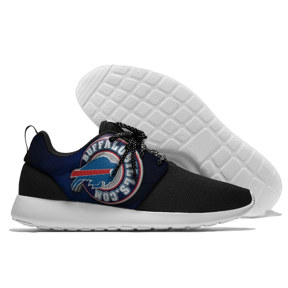 Men NFL Buffalo Bills Roshe style Lightweight Running shoes 2