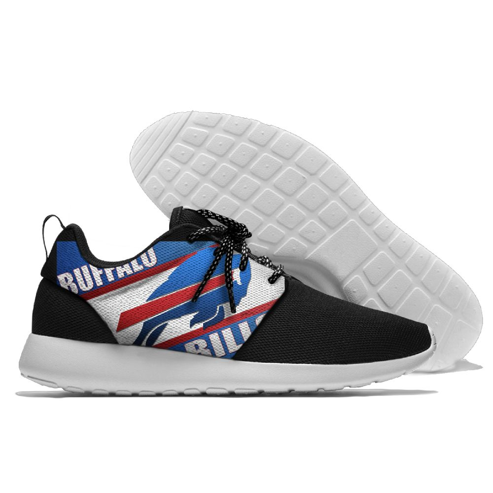 Men NFL Buffalo Bills Roshe style Lightweight Running shoes 3
