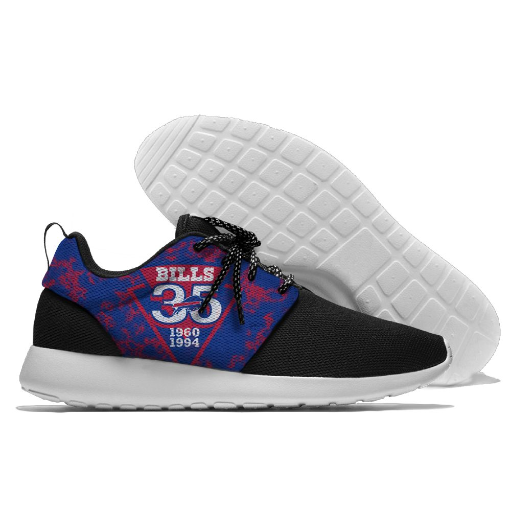 Men NFL Buffalo Bills Roshe style Lightweight Running shoes 5