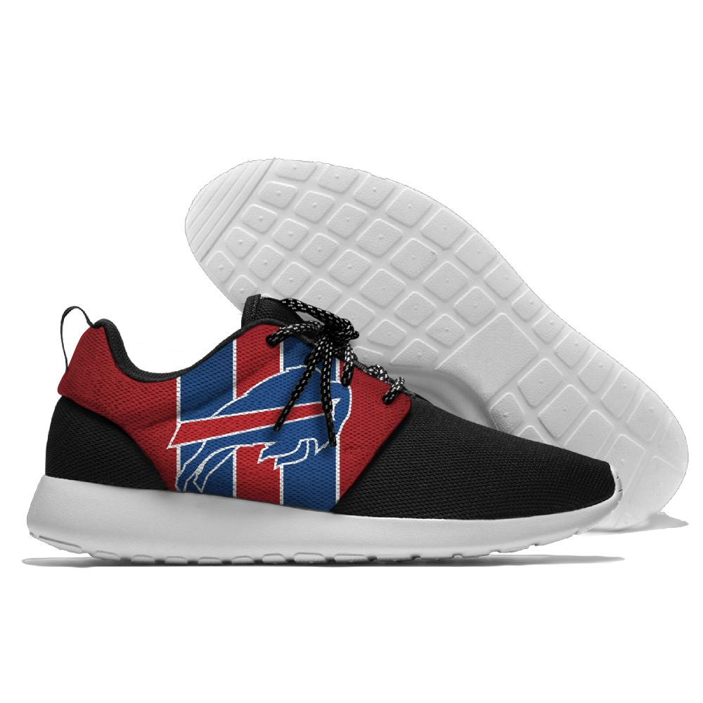 Men NFL Buffalo Bills Roshe style Lightweight Running shoes 6