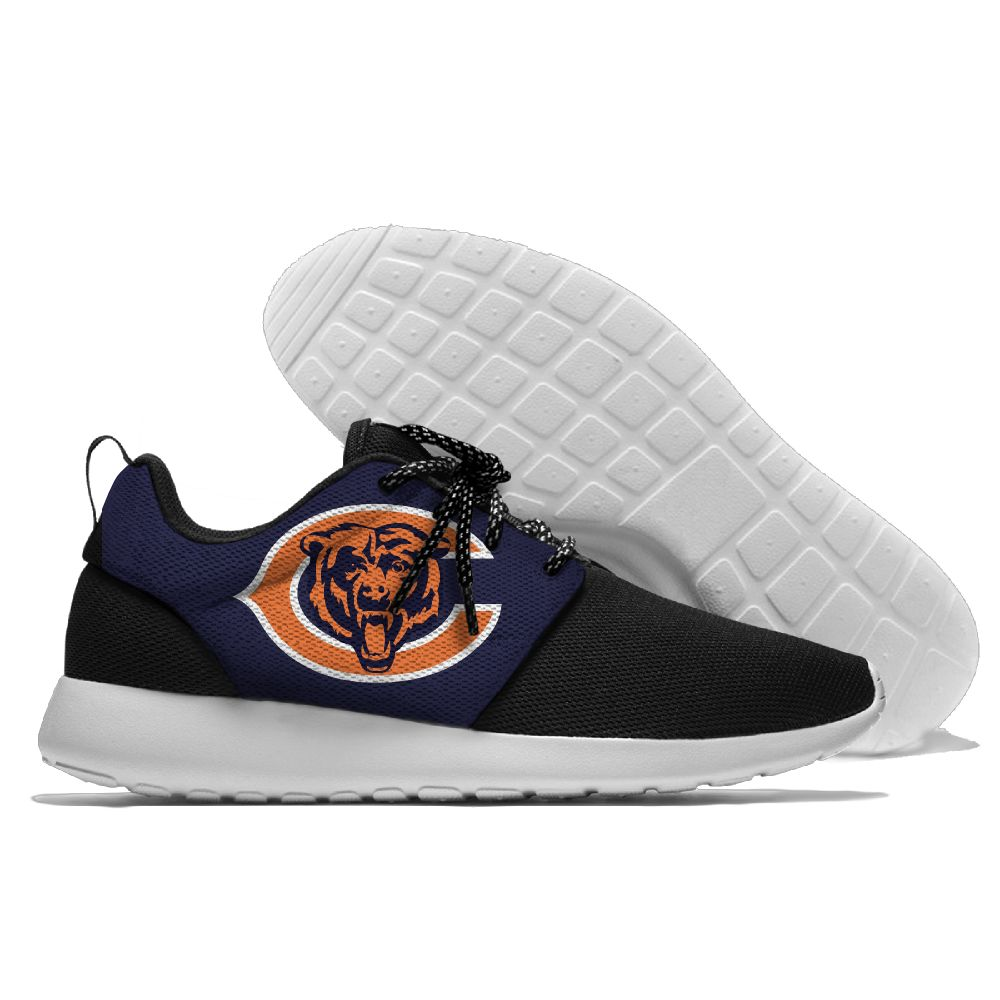 Men NFL Chicago Bears Roshe style Lightweight Running shoes 4