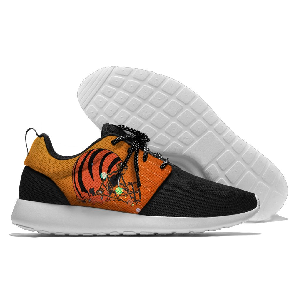 Men NFL Cincinnati Bengals Roshe style Lightweight Running shoes 2