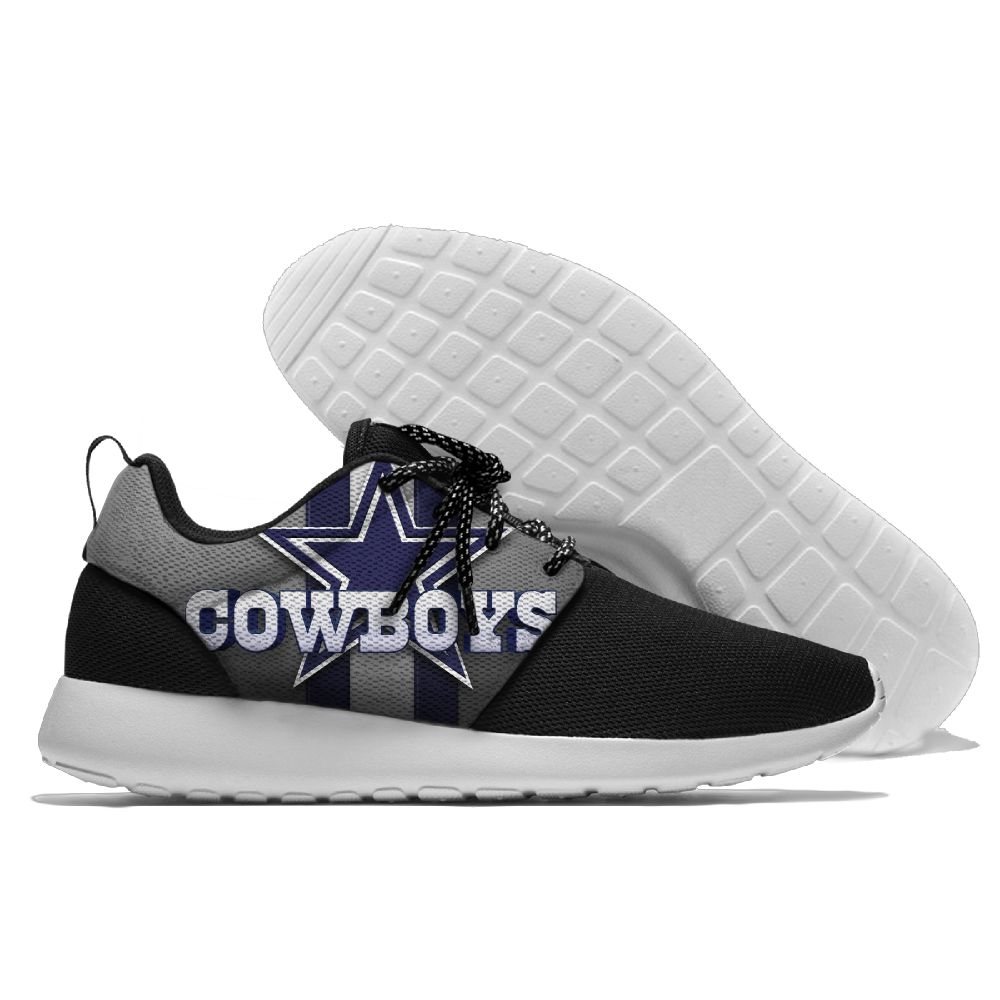 Men NFL Dallas Cowboys Roshe style Lightweight Running shoes 3