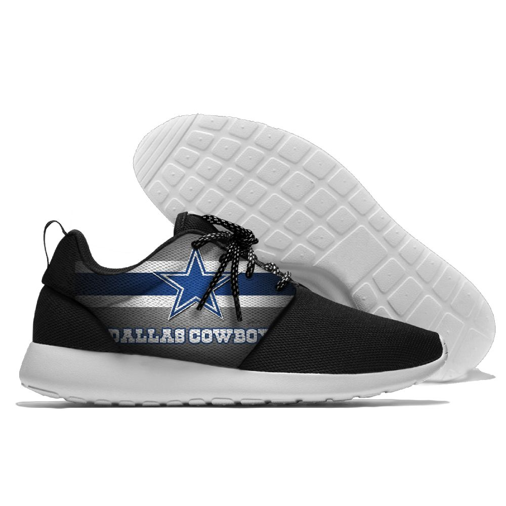 Men NFL Dallas Cowboys Roshe style Lightweight Running shoes 4