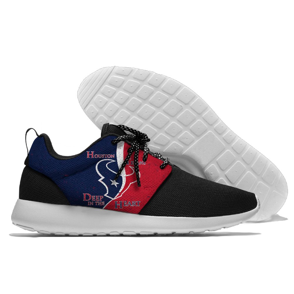 Men NFL Houston Texans Roshe style Lightweight Running shoes 2