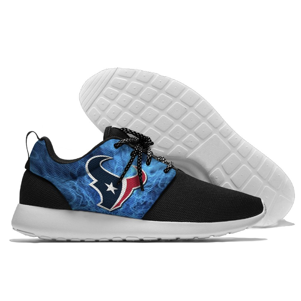 Men NFL Houston Texans Roshe style Lightweight Running shoes 4