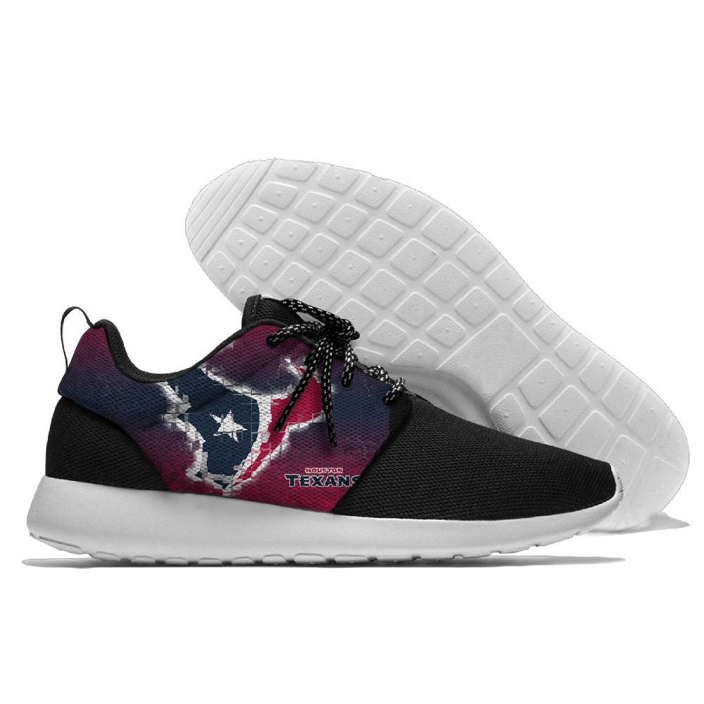 Men NFL Houston Texans Roshe style Lightweight Running shoes 5