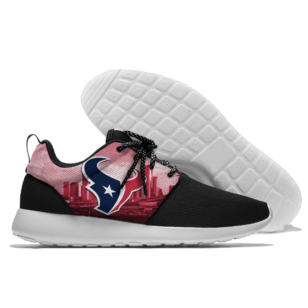 Men NFL Houston Texans Roshe style Lightweight Running shoes