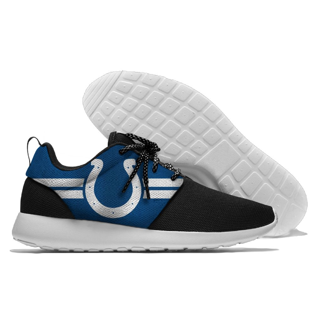Men NFL Indianapolis Colts Roshe style Lightweight Running shoes 1