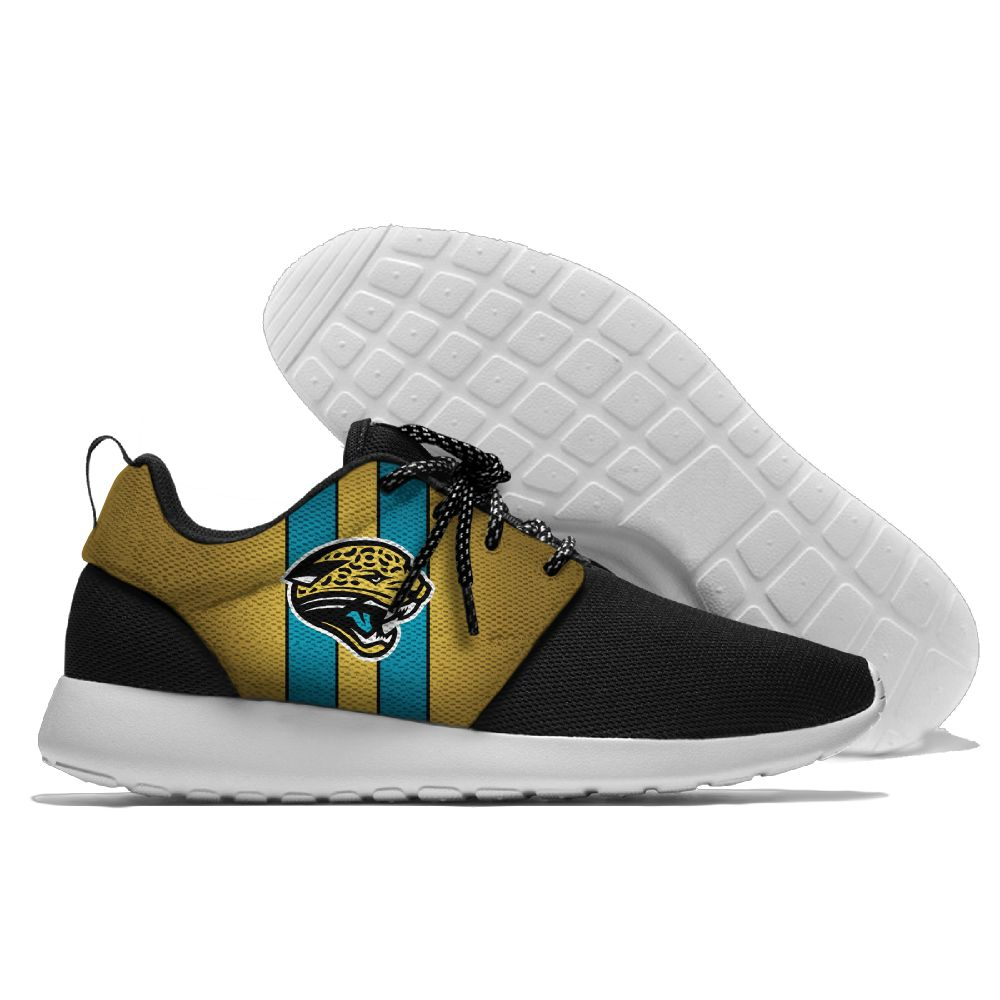 Men NFL Jacksonville Jaguars Roshe style Lightweight Running shoes 3