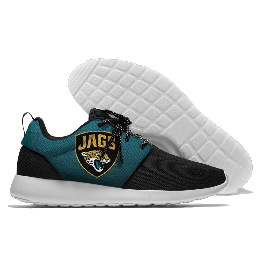 Men NFL Jacksonville Jaguars Roshe style Lightweight Running shoes