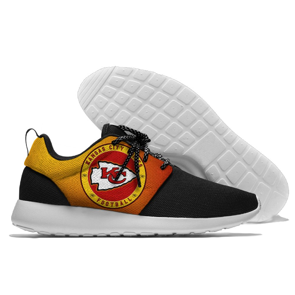 Men NFL Kansas City Chiefs Roshe style Lightweight Running shoes 1