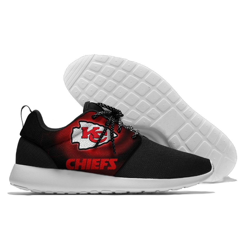 Men NFL Kansas City Chiefs Roshe style Lightweight Running shoes 5