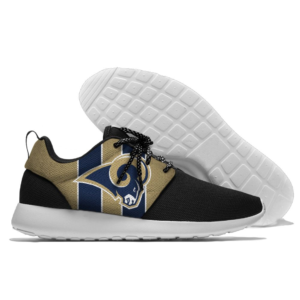 Men NFL Los Angeles Rams Roshe style Lightweight Running shoes 5