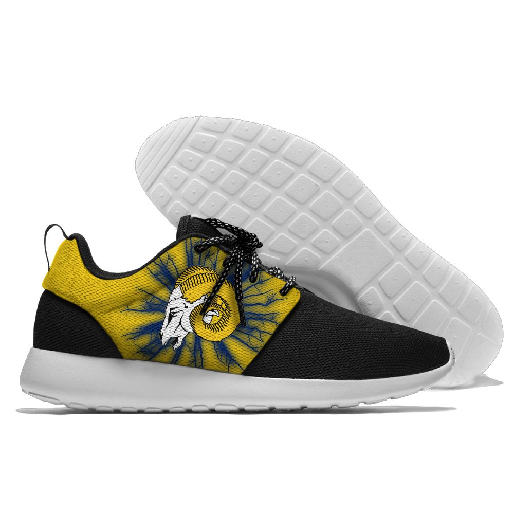 Men NFL Los Angeles Rams Roshe style Lightweight Running shoes
