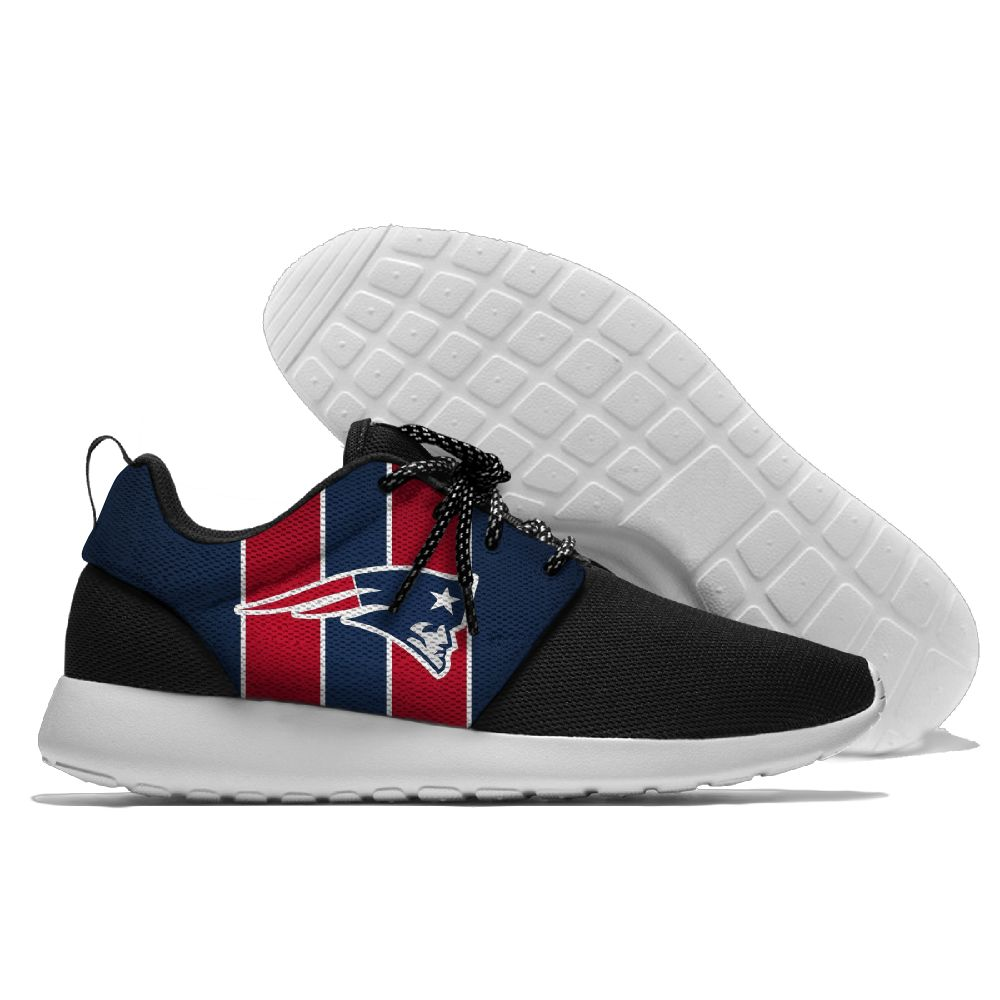 Men NFL New England Patriots Roshe style Lightweight Running shoes 2