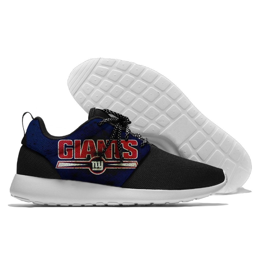 Men NFL New York Giants Roshe style Lightweight Running shoes 4
