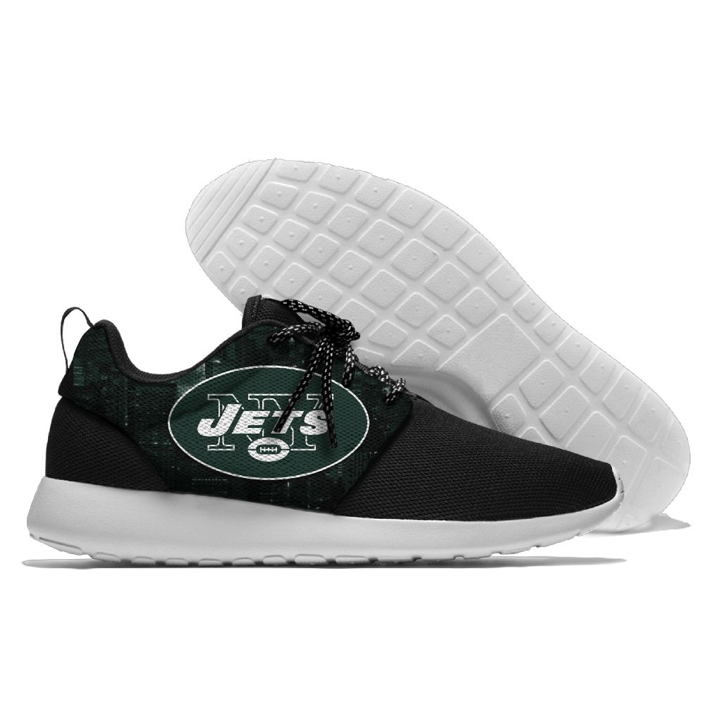 Men NFL New York Jets Roshe style Lightweight Running shoes 1