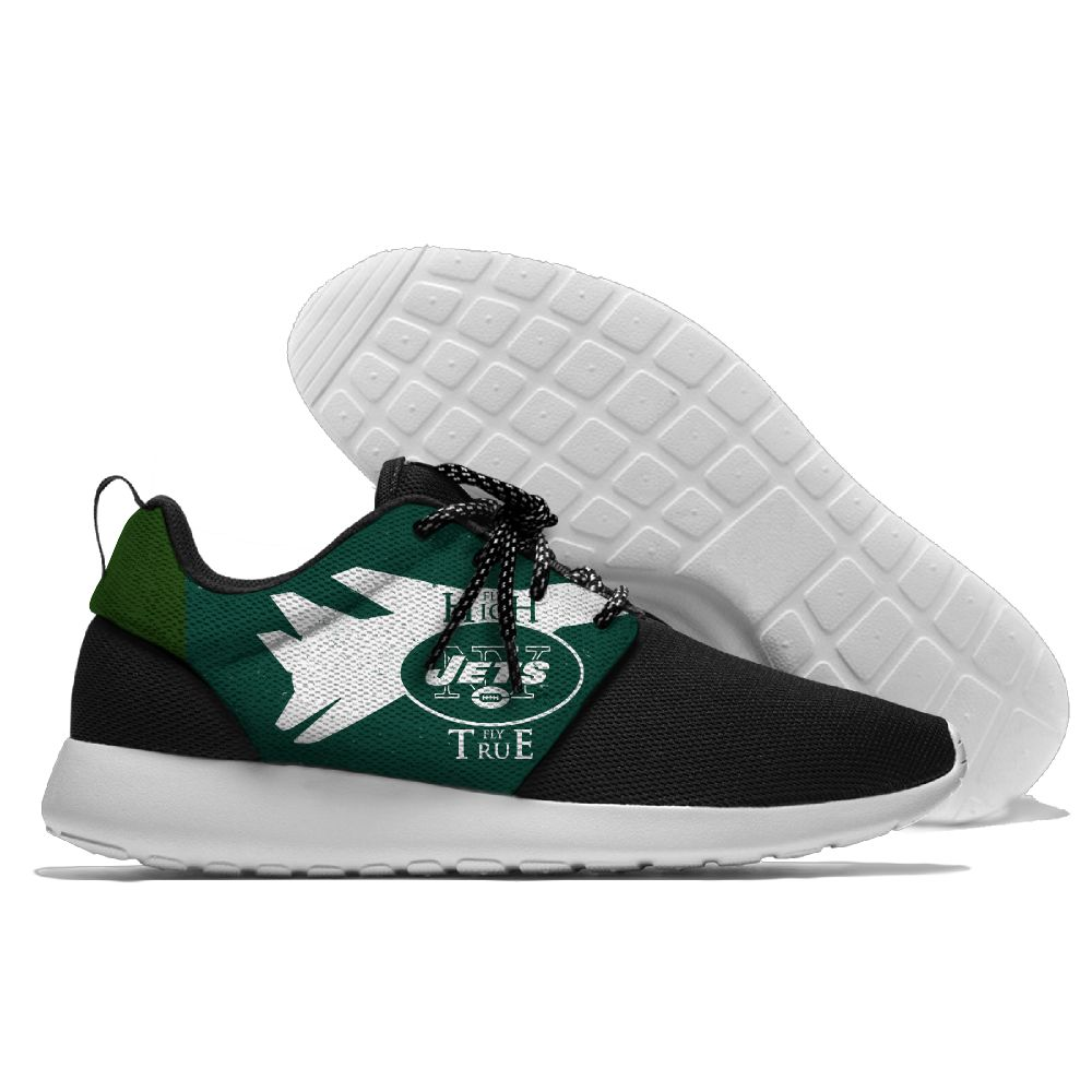 Men NFL New York Jets Roshe style Lightweight Running shoes 2