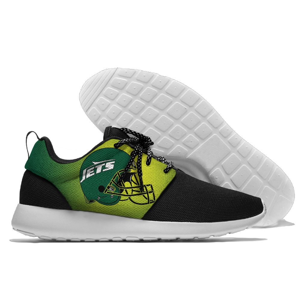 Men NFL New York Jets Roshe style Lightweight Running shoes 5