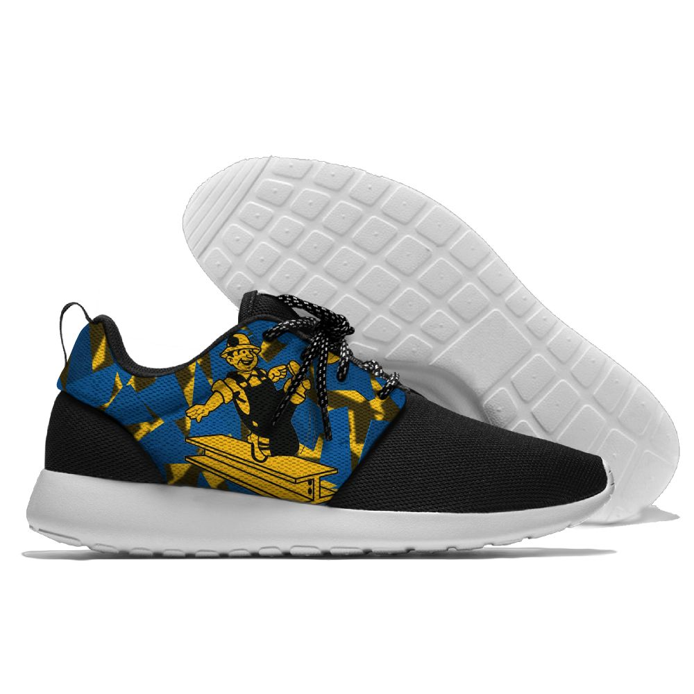Men NFL Pittsburgh Steelers Roshe style Lightweight Running shoes 8