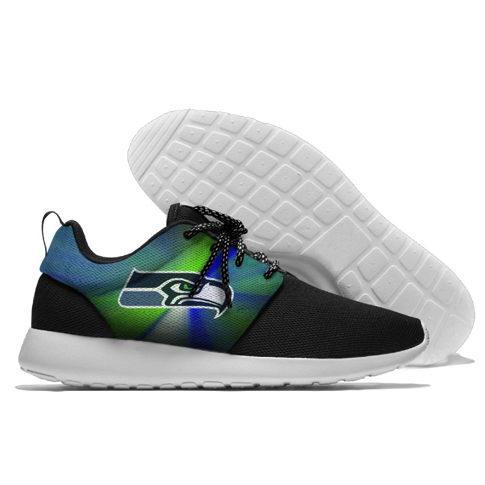 Men NFL Seattle Seahawks Roshe style Lightweight Running shoes 2