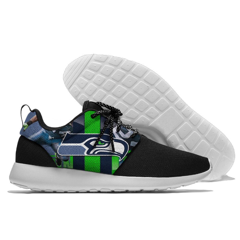Men NFL Seattle Seahawks Roshe style Lightweight Running shoes 5
