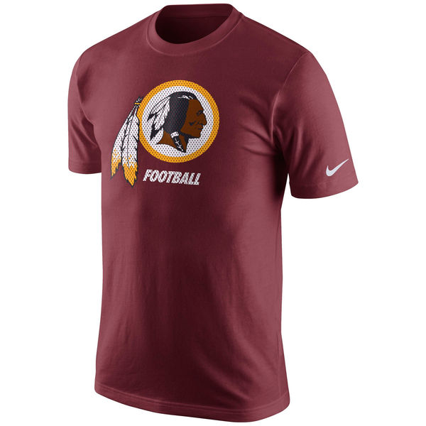Men NFL Washington Redskins Nike Facility TShirt Burgundy
