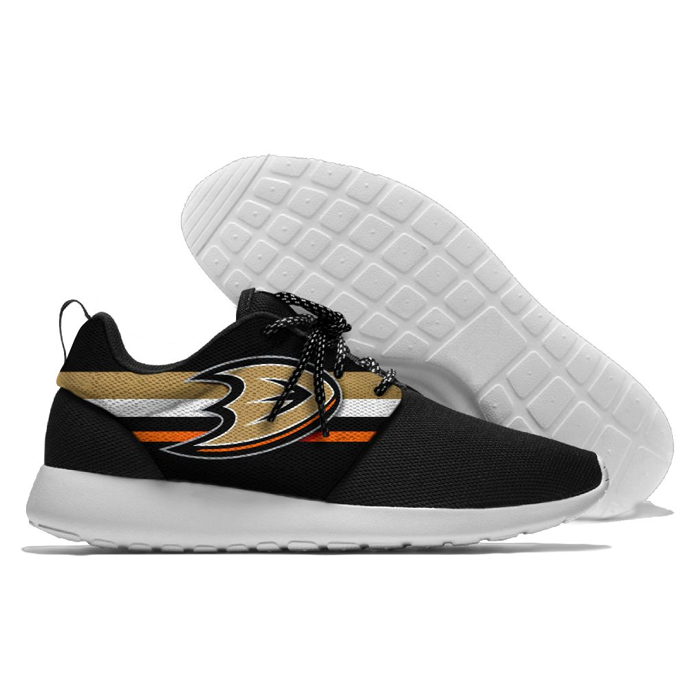 Men NHL Anaheim Ducks Roshe style Lightweight Running shoes 3