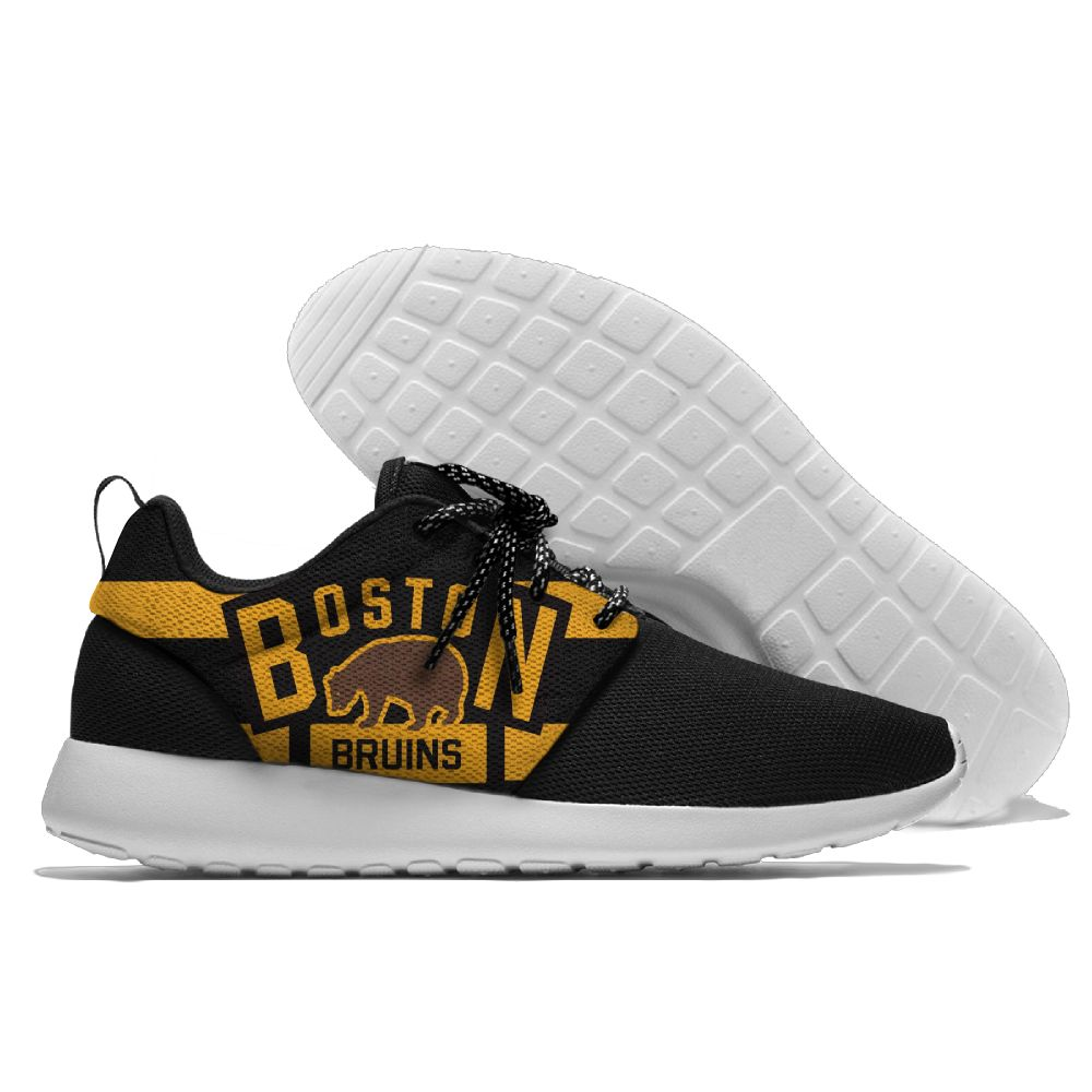 Men NHL Boston Bruins Roshe style Lightweight Running shoes 10