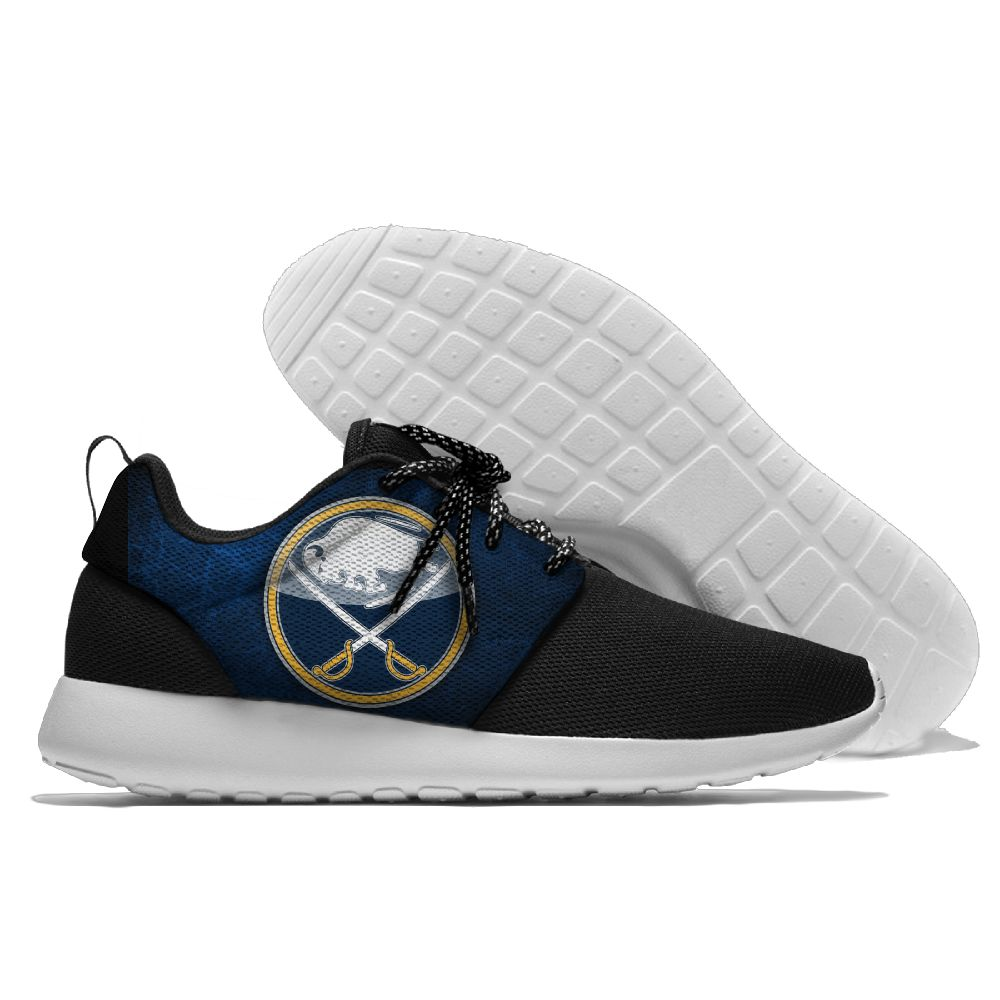 Men NHL Buffalo Sabres Roshe style Lightweight Running shoes 7