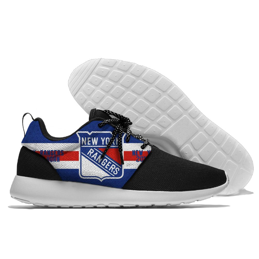 Men NHL New York Rangers Roshe style Lightweight Running shoes 11