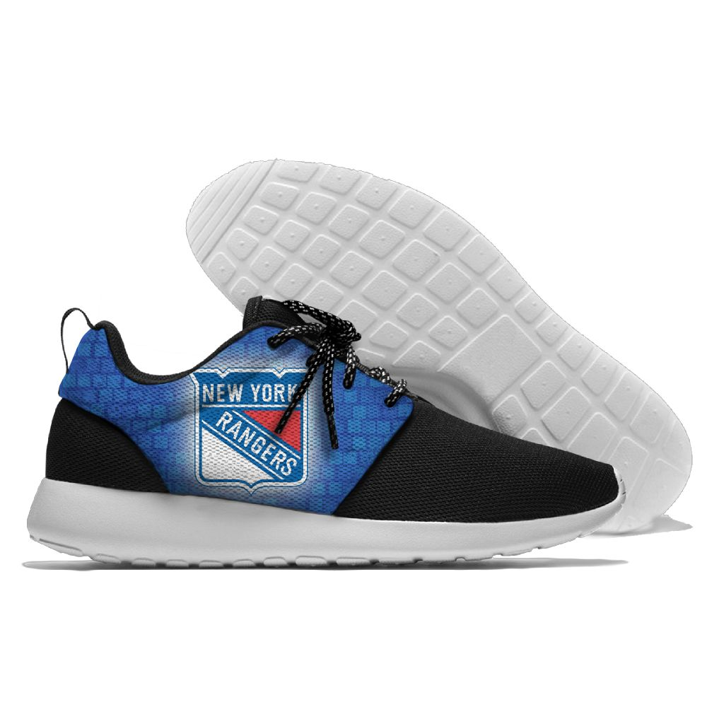 Men NHL New York Rangers Roshe style Lightweight Running shoes 12