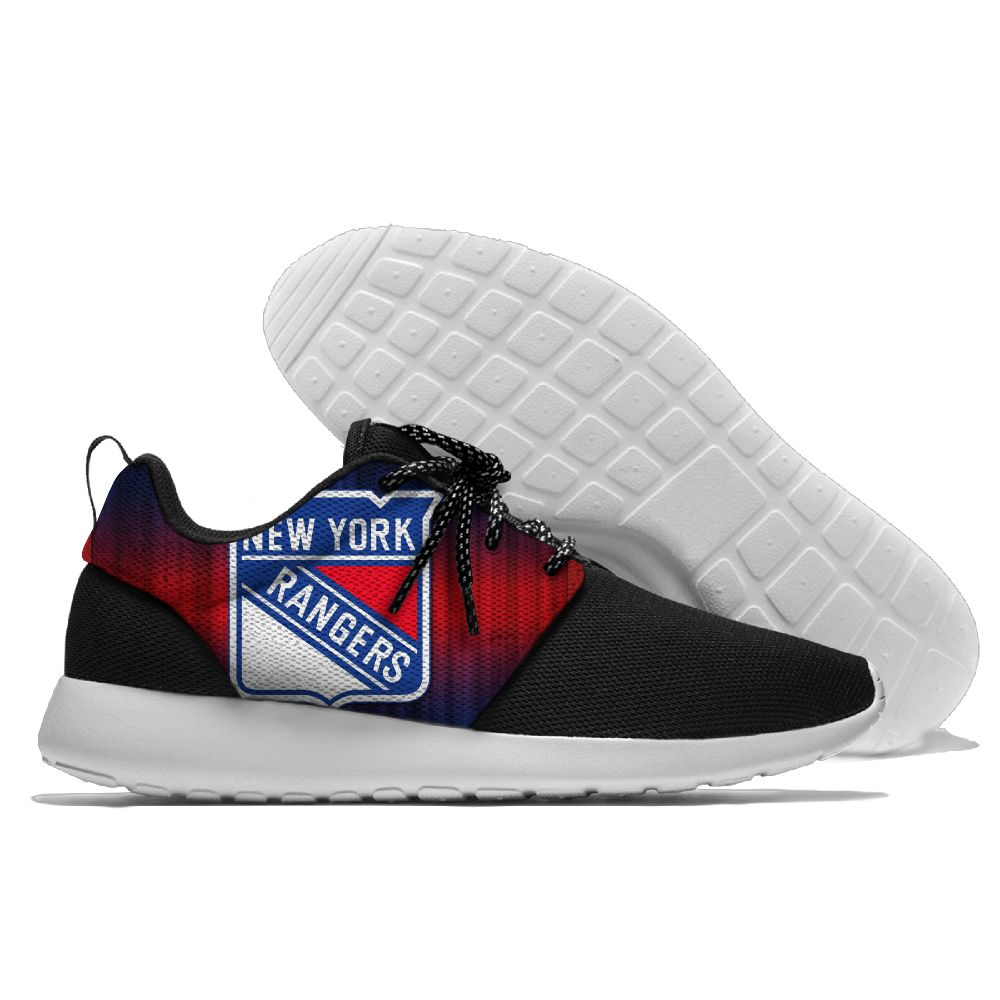 Men NHL New York Rangers Roshe style Lightweight Running shoes 14