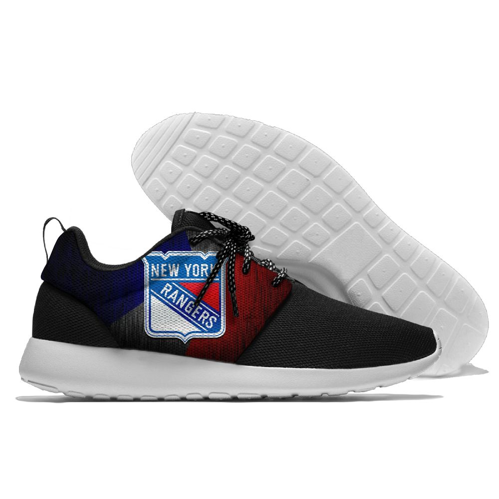 Men NHL New York Rangers Roshe style Lightweight Running shoes 15