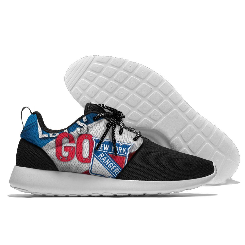 Men NHL New York Rangers Roshe style Lightweight Running shoes 17