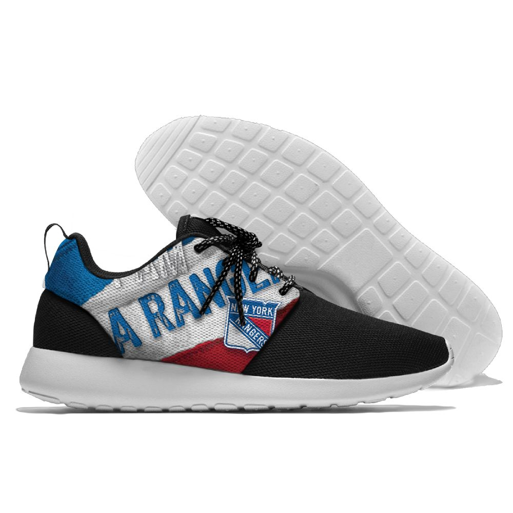 Men NHL New York Rangers Roshe style Lightweight Running shoes 3
